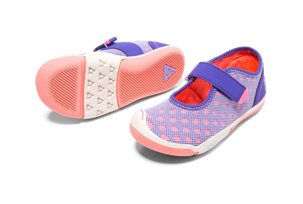 Plae CHLOE Velcro Trainers (Passion Flower) 26 only!